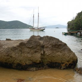 Ilha Grande: vuelta a la isla en barco
