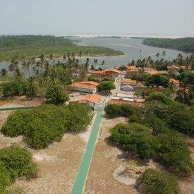 El río Preguiça: Caburé y Atins